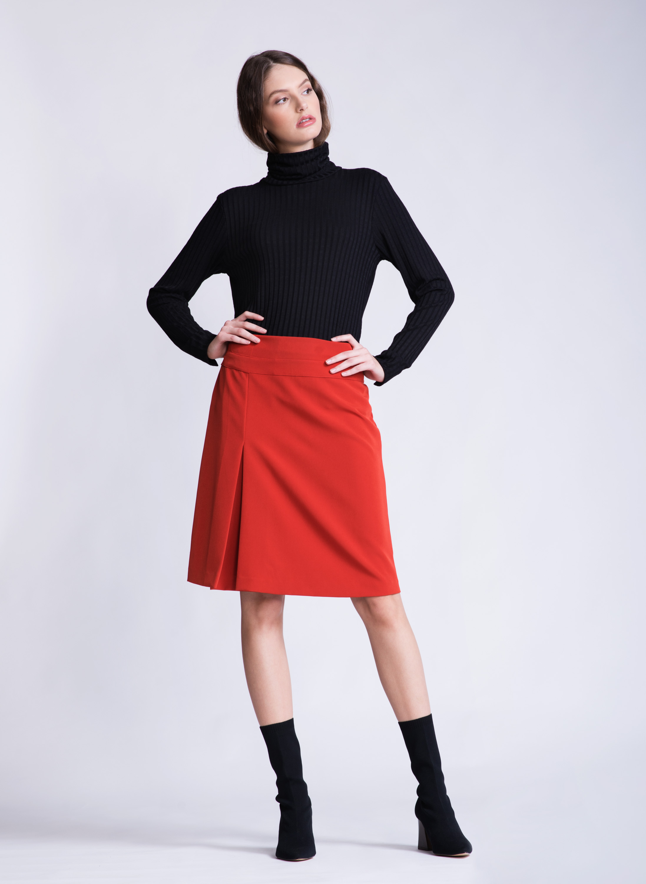JANE Skirt | Red 2
