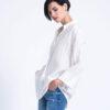 חולצה | GAL | לבן פסים
