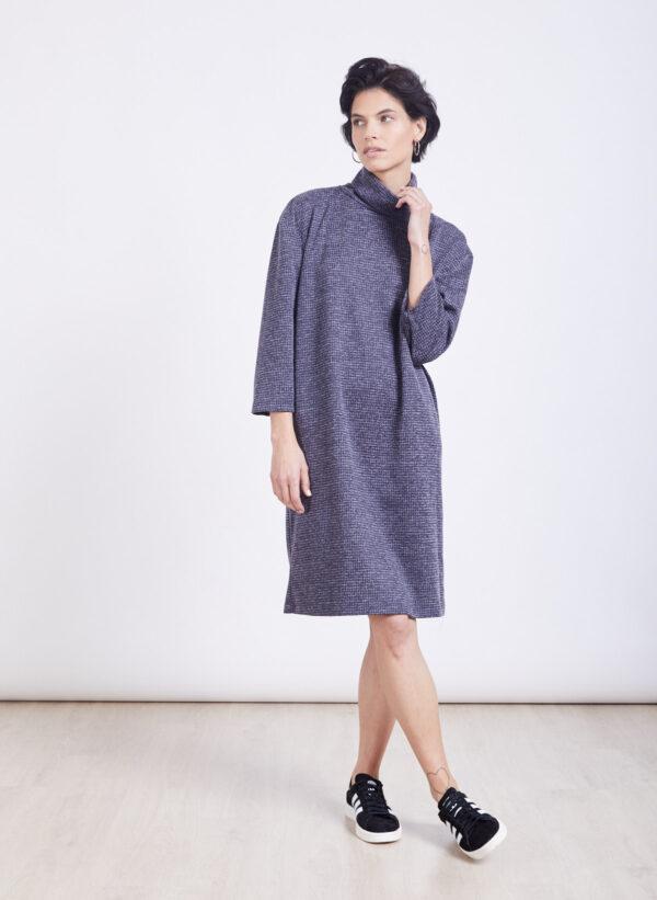 שמלה | NINA | אפור