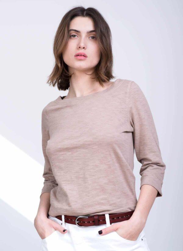 חולצה | TOTO S/20 | קאמל | PreOrder