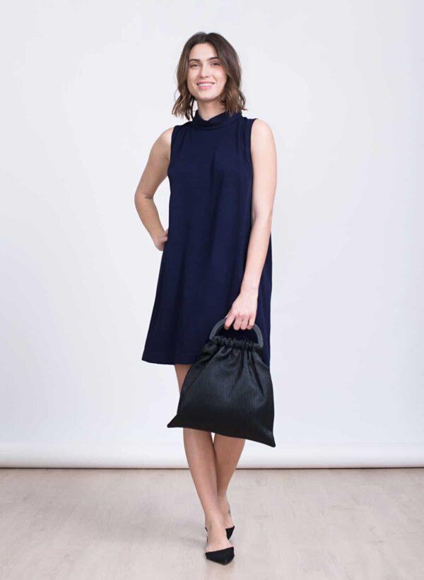 שמלה | NICOLA | סגול